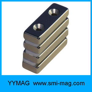High Quality Certificated N48sh Neodymium Block Magnets pictures & photos