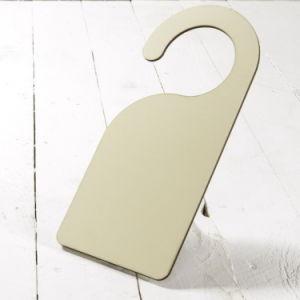 Wholesale China Sublimation Blanks Hardboard Door Hanger for Heat Press