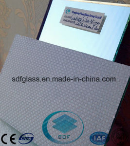 Safety Woven Film Silver Mirror with CE, ISO