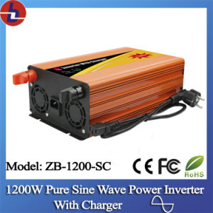 1200W DC to AC Pure Sine Wave Power Inverter with Charger