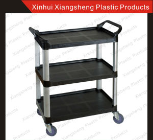 Restaurant Products Plastic Multi-Service Trolley Factory Direct Sale