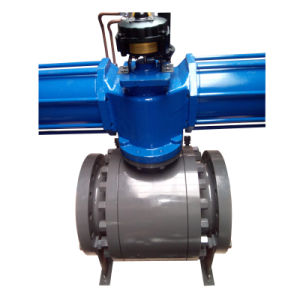 Ball Valve Trunnion Three Piece Body Two PCS Body Ball Valve