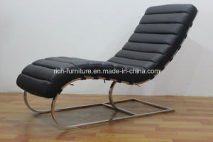 China Leisure Furniture Leather Lounge Chair pictures & photos
