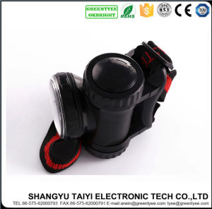 3W CREE LED ABS Rechargeable Camping Headlamp pictures & photos