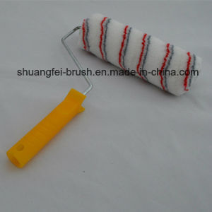 "9"" Pile 12mm Red & Grey Paint Roller with 38mm 9"" *4 Wire Roller Handle for All Painting pictures & photos"