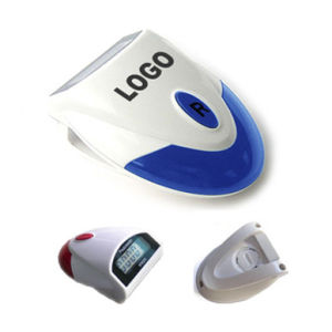 Step Counter Single Function Pedometer (QPM-001H) pictures & photos
