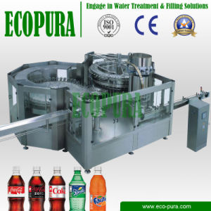Automatic 3-in-1 Soda Beverage Filling Line / Bottling Plant pictures & photos