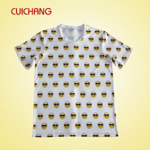 Custom Design T-Shirt for Sublimation with High Quality