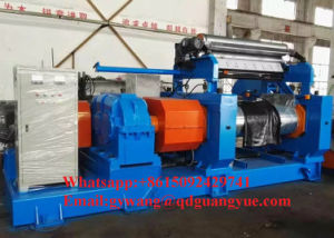 Russia Hot Sale Two Roll Open Rubber Mixing Mill Xk-450 pictures & photos