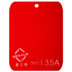Good Quality of Virgin Red Cast Acrylic Sheet (SDL-135A) pictures & photos