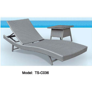 Patio Rattan Leisure Garden Dining Modern Lying Pool Bed For Outdoor