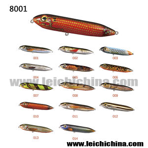High Quality Plastic Hard Fishing Lure Pencil Lure pictures & photos