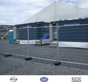 Australia/New Zealand Galvanized Temporary Fence with Support Brace (Factory) pictures & photos