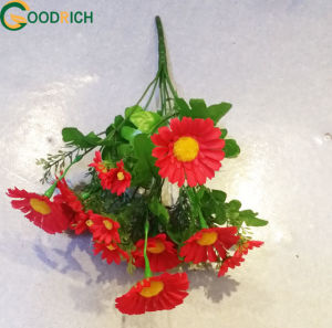 Cheap Artificial Bouquet Daisy for Decoration