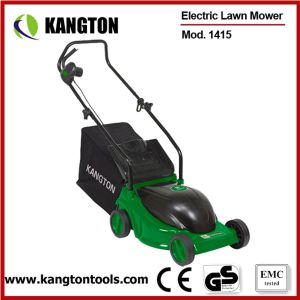 1500W Electric Hand Operate Lawn Mower (ELM1415) pictures & photos
