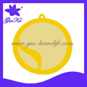 High-Grade Stainless Steel Jewelry Gold Pendant (2015 Gus-Enp-008)