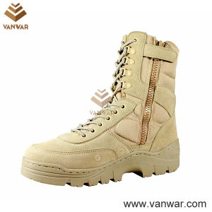 Zipper Military Army Desert Boots for Police and Soliders (WDB009) pictures & photos