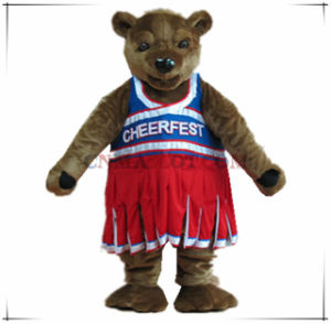 Super Quality Custom Made Bear Mascot Costume Animal Mascot