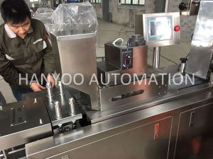 Dpp-150e Automatic Alu PVC Blister Packaging Machine pictures & photos