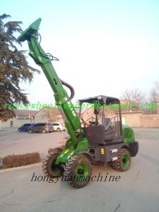 Telescopic Wheel Loaderzl10f with Ce pictures & photos