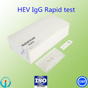 Medical Supplies Hev-Igg/ Igm Hepatitis E Virus Rapid Test Cassette  Clinical Lab Reagents
