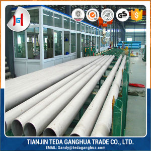 ASTM A312 304 Seamless Stainless Steel Pipe pictures & photos