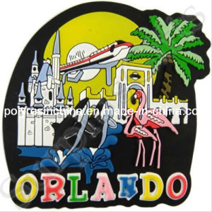 Soft PVC Souvenir Magnets for Orlando pictures & photos