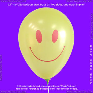 Inflatable Helium Latex Pearlized Balloon for New Year′s Day pictures & photos
