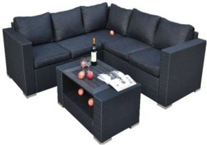 Modular Seating Group Rattan/Wicker Sofa Outdoor Furniture