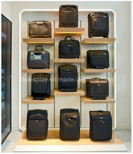 Wooden Wall Display Shelf For Bags Zs 077
