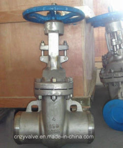 "ANSI 4"" 150lb CF8m Gate Valve pictures & photos"