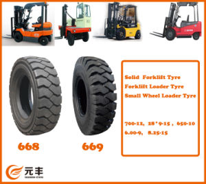 Solid Forklift Tyre, Forklift Loader, Small Wheel Loader Tyre
