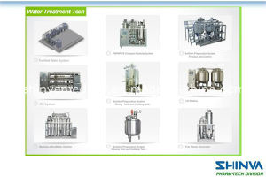 Shinva Water System, Pure Water System, Pure Steam Generator, Water Distiller