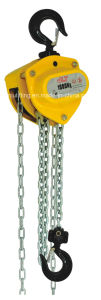 CH-T Chain Hoist Chain Pully Block with Overload Protection (0.5Ton-30Ton)