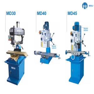 MD30/MD40/MD45 Vertical Manual Drilling and Milling Machine for Desktop pictures & photos