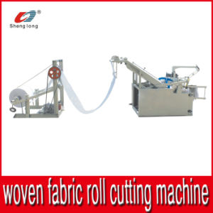 Automatic Plastic PP Woven Fabric Roll Bag Cutting Machine pictures & photos