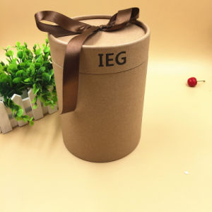 Custom Kraft Paper Tube/Cardboard Round Box for Gift Packaging pictures & photos