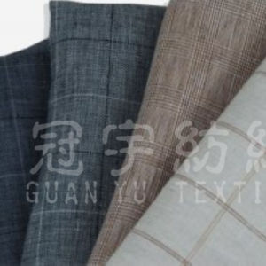 100% Polyester Knitted Home Textile Linen Fabric pictures & photos