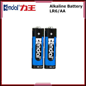 Super Power 1.5V Alkaline Battery Lr6 AA Battery pictures & photos