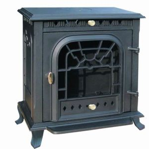 Cast Iron Unique Wood Burning Stove, Wood Burning Fireplace (FIPA003)