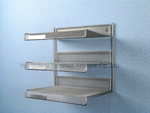 Three Tiers Mesh Wall Rack (YH3121492)