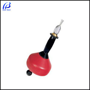 6mm*6m Hand Steel Pipe Surface Cleaning Machine, Drain Cleaner (38s)