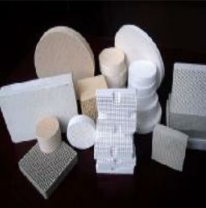 Honeycomb Ceramic Filter (used in industry) for Filtering pictures & photos