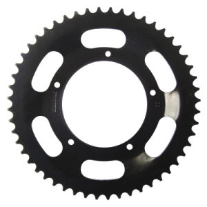 Motorcycle Sprocket/Black/with Heat Treatment pictures & photos