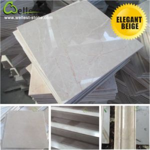 Natural Beige Marble for Interior Floor/Flooring/Wall pictures & photos