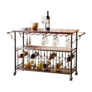 Kitchen Cart With Wine Rack Ce