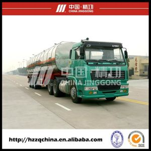Tank Semi-Trailer for Chemical Liquid Transportation Semi-Trailer