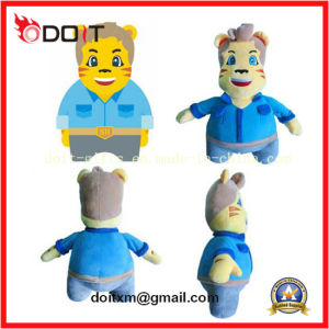 Custom Stuffed Plush Doll with Blue Shirts pictures & photos