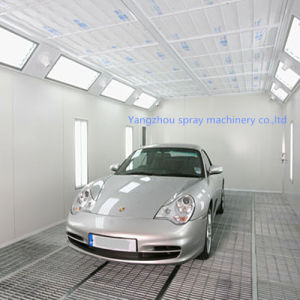 Auto Spray Booth with Enchanced Curing System-Air Nozzle