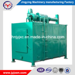 china smokeless continuous wood charcoal carbonization furnace oven